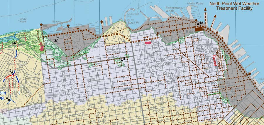 North Beach Watersheds